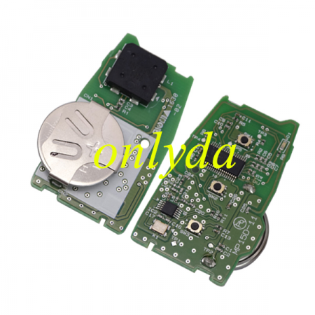 F2951 X0700 chip model smart remote key