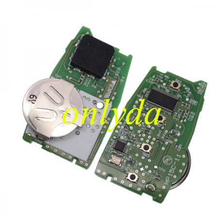 4 Button remote smart cand (HITAG3)unlock F2951X0700 433MHz