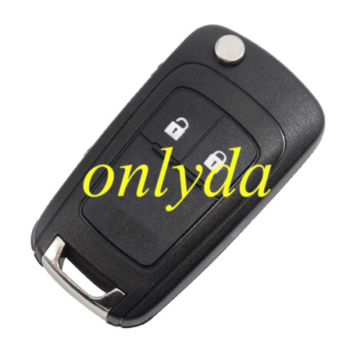 For Chevrolet unkeyless remote 7941 chip-433MHZ/315MHZ 2;3;3+1button, please choose the key shell