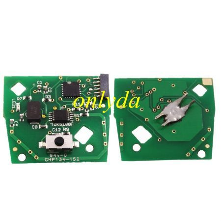 For Fir 114 and Punto 188 1Button remote key with 434mhz in black color ,programmed by Zedfull