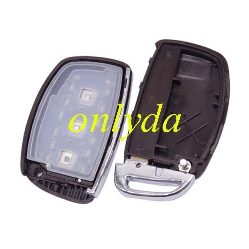 For IX35 keyless Smart 3 button remote key with PCF7945/7953 with 434mhz for IX35 2013 year