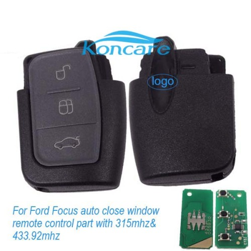 For Ford Focus auto close window remote control part ford windows autoclose remote with 315mhz and 434mhz
