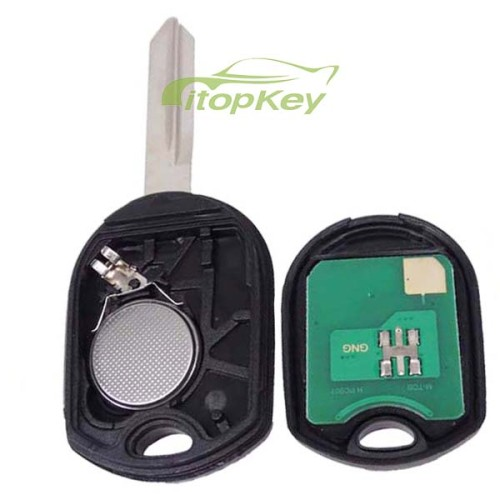 For Ford 3 button remote key with 315mhz/434mhz without chip
