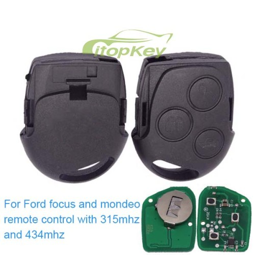 """For ford focus and mondeo remote control with 315mhz and 434mhz """"windows autoclose function""""when you leave"""
