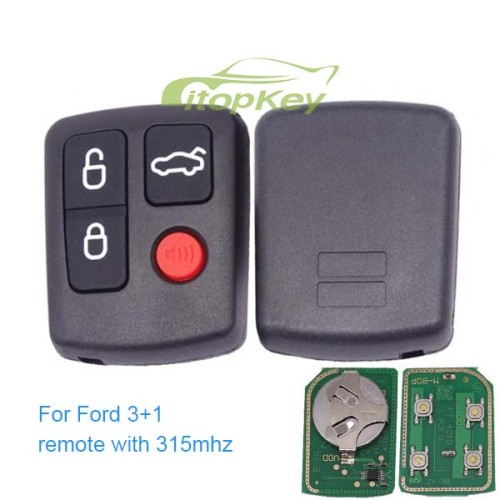 For ford 3+1 remote with 315mhz and 433mhz