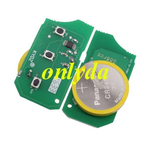 For Range Rover 3 button remote key with 315mhz/434mhz