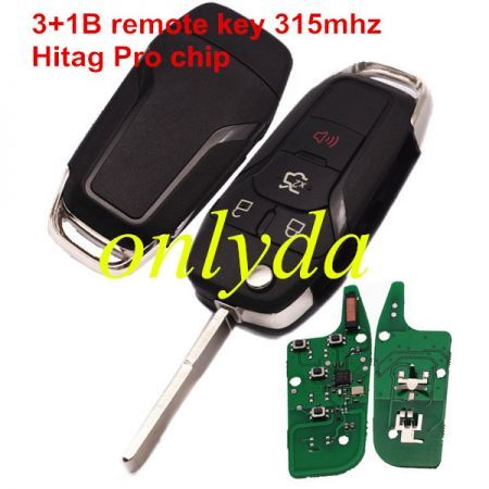 For Ford 4B flip remote with 315mhz FCCID:N5F-A08TAA