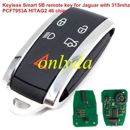 For original Benz Smart 2 button remote key with 315mhz