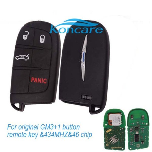 For original GM 3+1 button remote key with 434MHZ