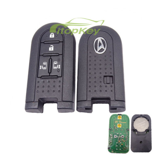For Toyota Daihatsu remote key with 4 button with 315MHZ with hitag3 PCF7953 47 chip