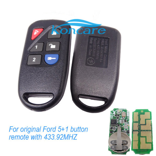 For original Ford 5+1 button remote with 434MHZ