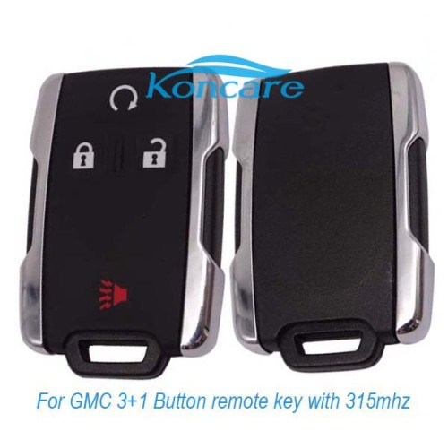 For original GMC 3+1 Button remote key with 315mhz