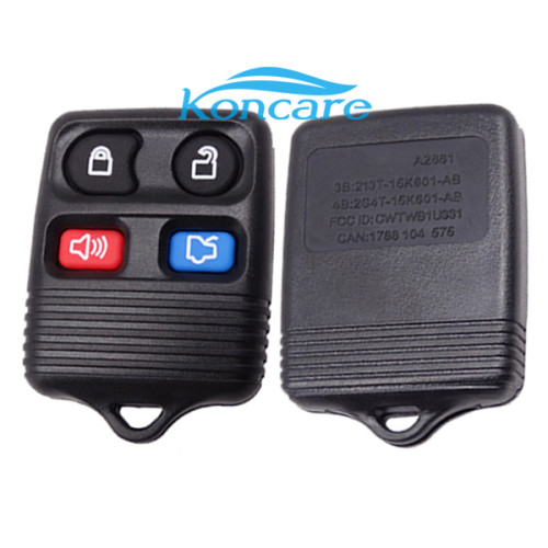 For Genuine Ford 3button Remote control with 315mhz and 435mhz