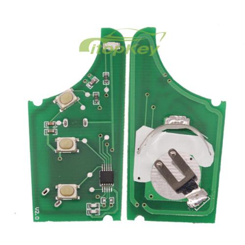 For KIA Sportage-R 3 button remote key with 433mhz