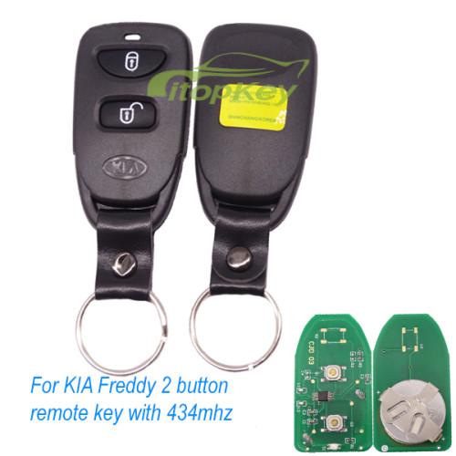 For KIA Freddy 2 button remote key 315mhz/434mhz