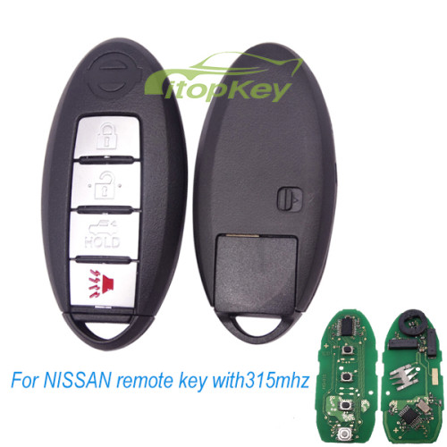 For NISSAN remote 315mhz FCCID:CWTWBU735 (can replace most of nissan unkeyless remote)