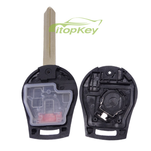 For Nissan 2+1 button remote key with 315mhz/ 433mhz