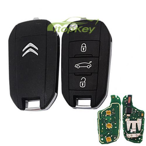 For Citroen remote key with 434mhz HELLA 5FA010 353-20 pcf7941 chip CMIIT ID:2013DJO113