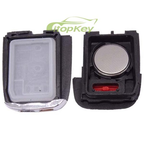 For Chevrolet black 3+1 button remote key with 434mhz