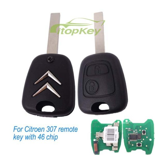 For Citroen 307 remote key with PCF7961 46 chip