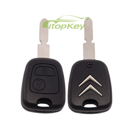 For Citroen 406 blade 2 button remote key with 46 chip & 434mhz