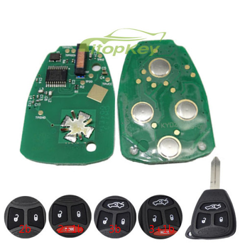 For Chrysler remote key 315mhz KOBDT04A OHT692427AA