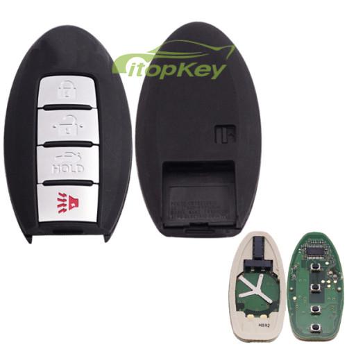 For Nissan Suuny remote 315mhz FCCID:CWTWB1U840 IC:1788D-FWB1U840