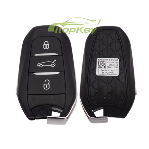 For Citroen remote key with 434mhz PCF7945/7953(HITAG2) chip