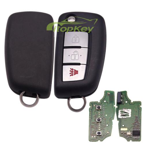 For Nissan original 2+1B remote 433mhz 7961M chip FCCID:CWTWB1G767