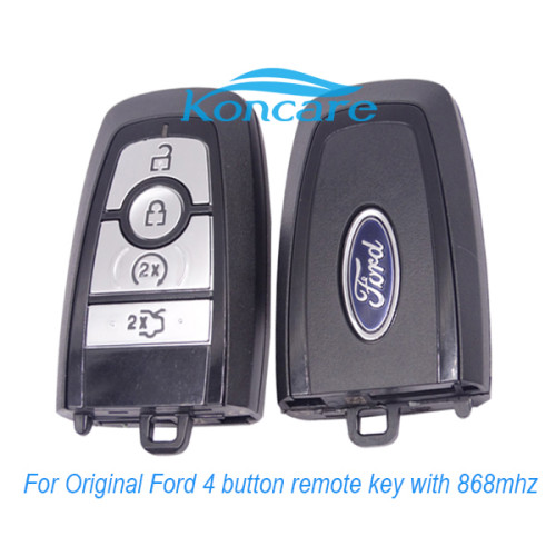 For original Ford 4 button keyless remote key with 868mhz