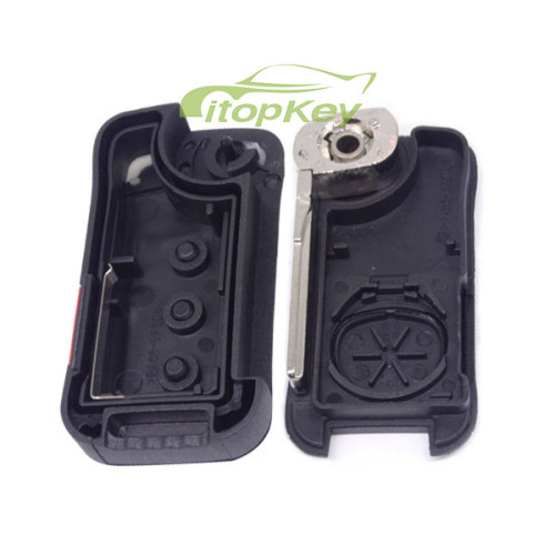 For Porsche Cayenne 3+1 button remote key with 46 chip with 315 mhz / 433mhz