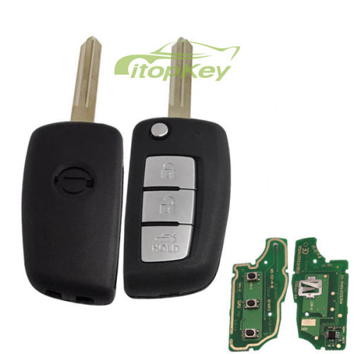 For Nissan 3B modified remote 315mhz/433mhz electronic wave modle