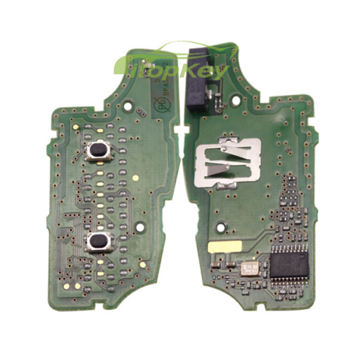 For Nissan original 2 button remote 433mhz PCF7961A chip FCCID:CWTWB1G767
