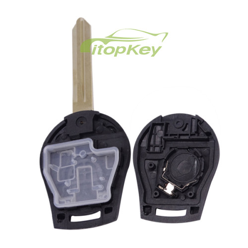For Nissan 2 button remote key with 315mhz/433mhz