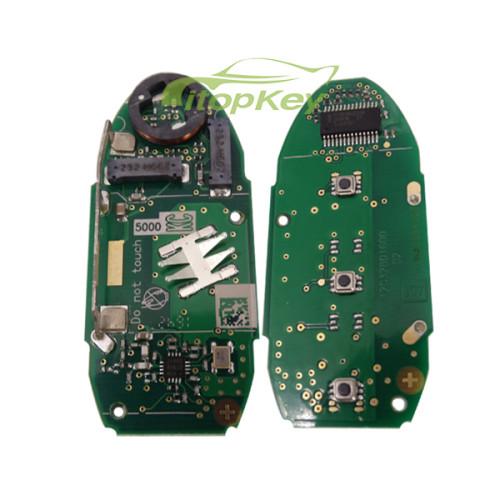 For Nissan 3 button remote key For 2014 new X-Trail 433.92mhz, chip:7945M Continental:S180144102 CMIIT ID:2012DJ6167 TRC/LPD/2011/78 KCC-CRM-TAL-S180144202