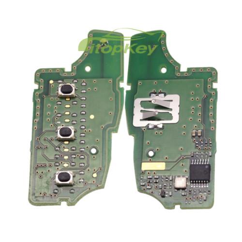 For Nissan original 3B remote 433mhz pcf7936(HITAG2) chip CMIIT ID:2014DJ3713