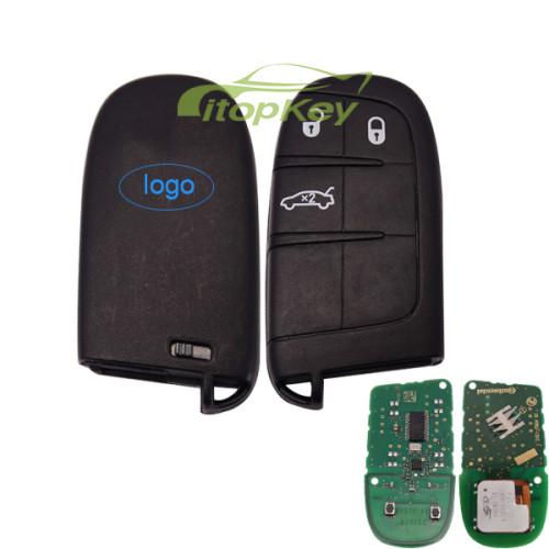 For Origianl Fiat 3 button remote key with 434mhz with PCF7945/7953 chip 56046760AB, FCCID:M3N40821302 IC:7812A40821302 RXXXXXXXX-XXXJD PCB printed: 28.4082-1302.1