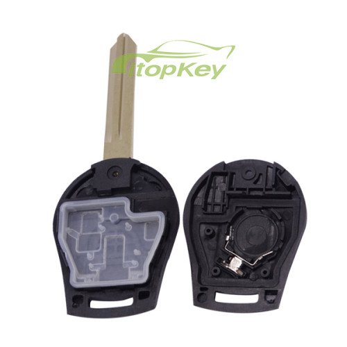 For Nissan 3 button remote key with 315mhz/433MHZ