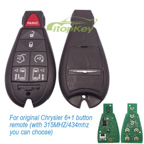 For original Chrysler 6+1B remote 315mhz/434mhz M3N5WY783X