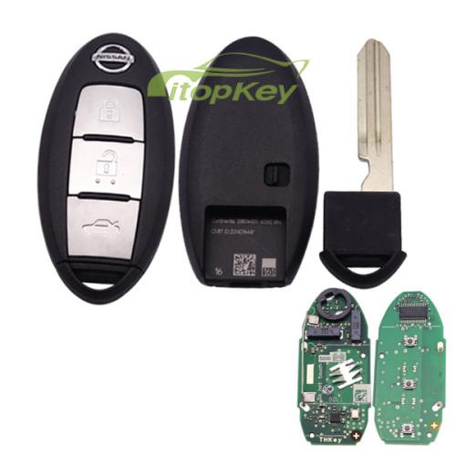 For Nissan Teana 3B keyless remote 434mhz chip:chip:7945M (4Achip) Continental:S180144311 CMIIT ID:2014DJ6447