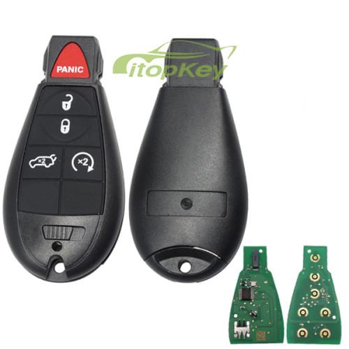 For original Chrysler 4+1 B remote 434mhz/315mhz M3N5WY783X