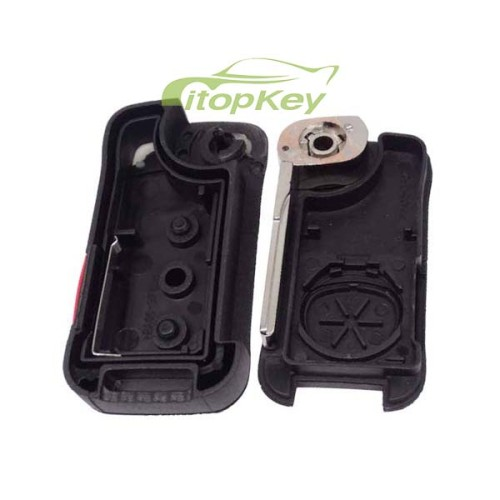 For Porsche Cayenne 2+1B remote key with 46 chip with 315mhz / 433mhz