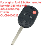 For original Ford 4 button remote with 315mhz