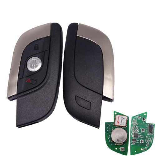 For Fisker original 3 button remote key with 433.92 mhz with PCF 7945 chip