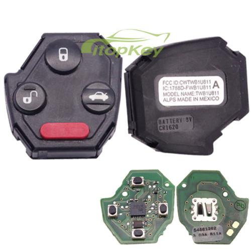 For original Subaru 3+1B remote 315mhz FCCID : CWTWB1U811 IC:1788D-FWB1U811
