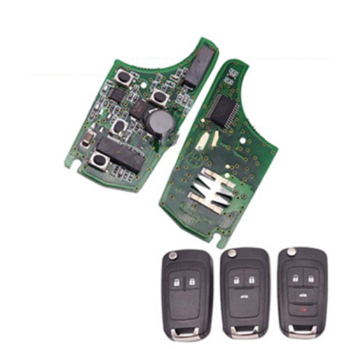 For Chevrolet smart keyless remote 7952 chip-433MHZ/315MHZ 2;3;3+1button, please choose the key shell