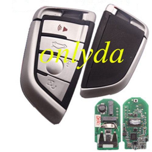 keyless 4 button remote key with PCF7953P chip HITAG-PRO (ID49) -315mhz/434mhz FSK