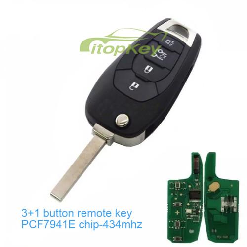 4 Button remote key PCF7941E chip-434mhz