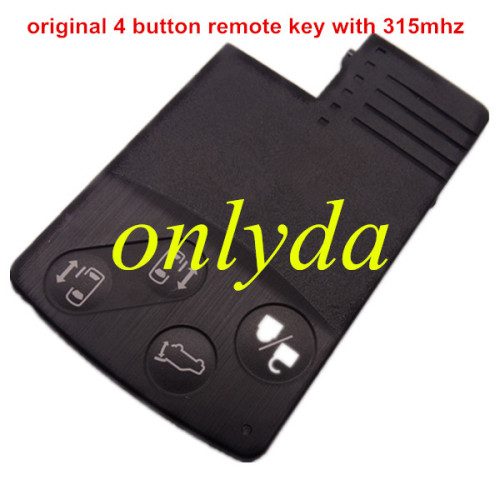 Original 4 button remote key with 315mhz