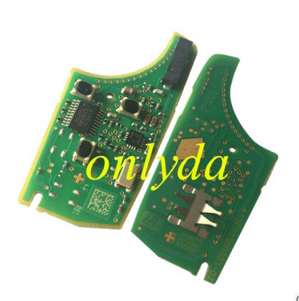 For Vauxhall original 3 button remote key with 434mhz 5WK50079 95507070 chip GM(HITA G2) 7937E chip